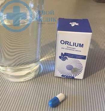 Орлиум фото упаковки и капсулы